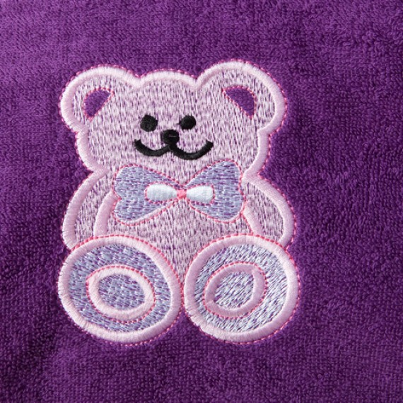 Teddy Bear (purple)